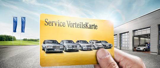 Service VorteilsKarte