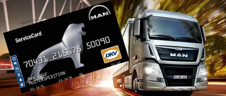 Die MAN ServiceCard