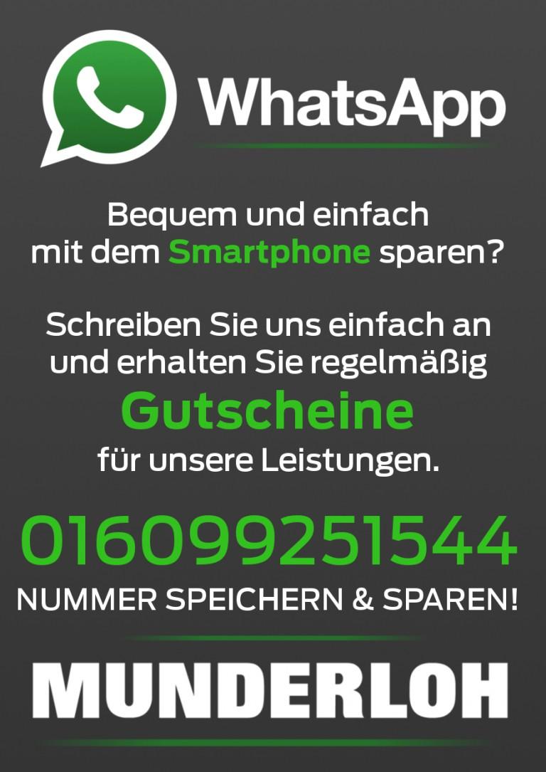 Munderloh ist auf WhatsApp