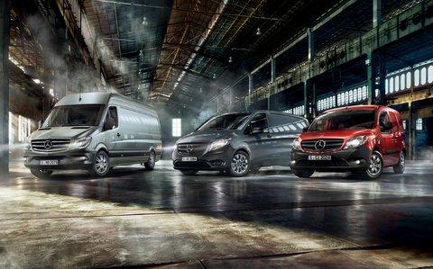 Mercedes Transporter Range