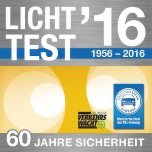 Plakette Lichttest 2016