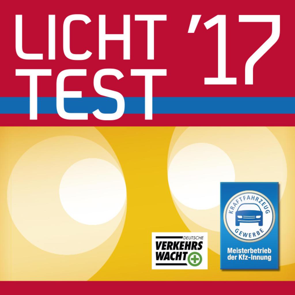 Plakette Lichttest 2017