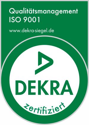 ISO9001 Zertifizierung erhalten